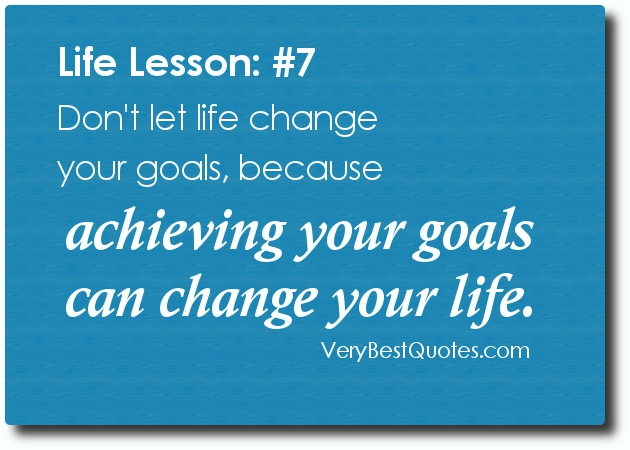 Motivational Quote on Goal: If your goals are realistic you can achieve anything