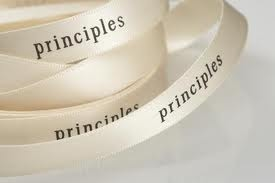 Motivational Quote on Principles:One needs to take time to form convictions once formed these