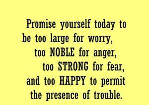 Motivational Poem  Promise Yourself