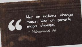 Motivational Quote on War and change: War on nations changes maps