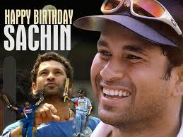 Motivational WallPaper : Happy Birthday Sachin Tendulkar