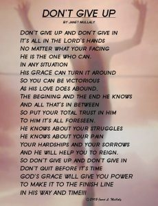motivational poem cum quote DON'T GIVE UP.06