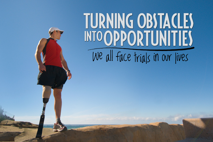 Motivational Quote on Obstacles to opportunity: Make Every Obstacle An Opportunity