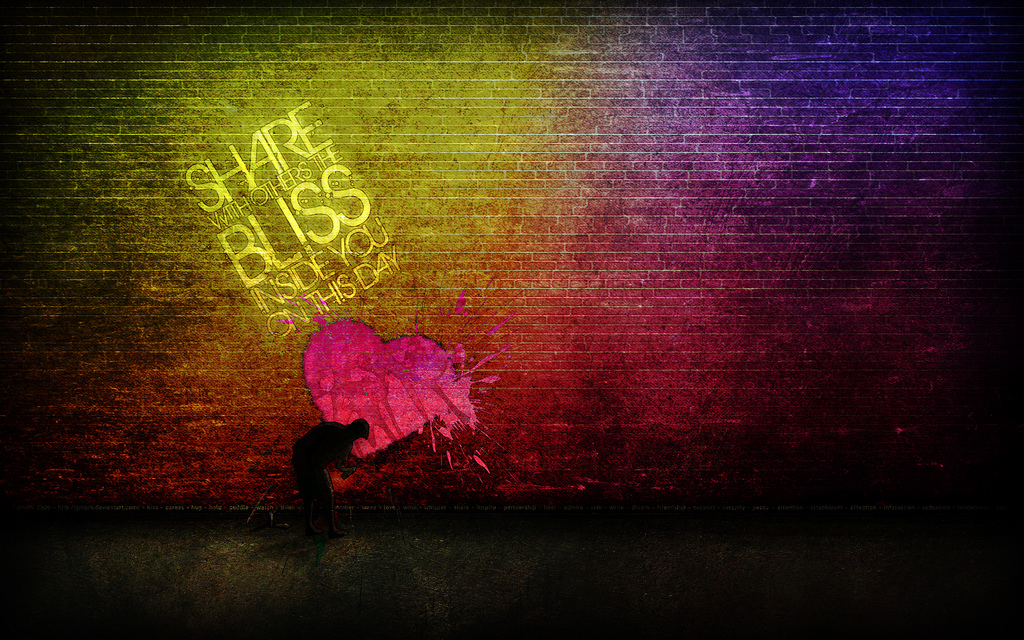 Motivational Wallpapers on Hope : Share the bliss you have