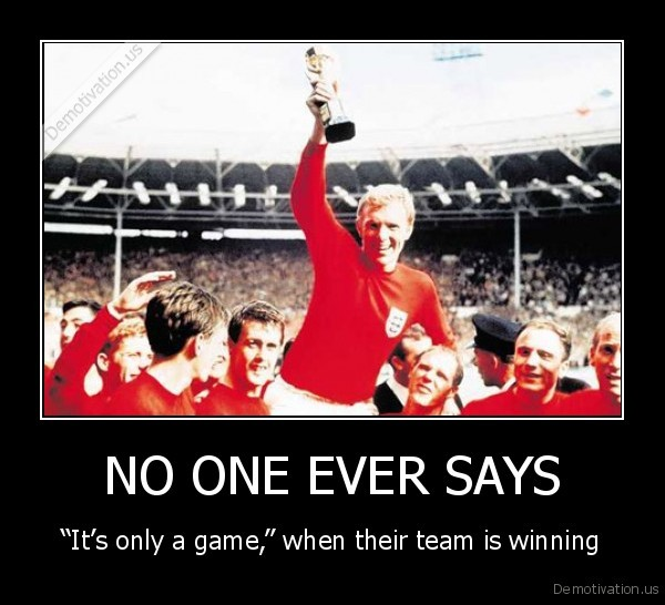 Motivational Quote on Winning: Have you ever noticed that people never say