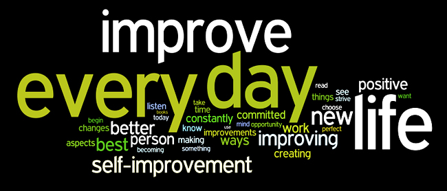 "Motivational Quote on Improvement: Improvement always begins with ""I"""