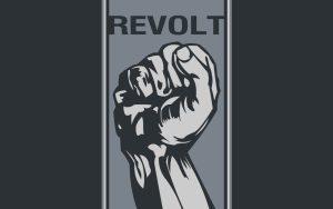 Revolt-motivational picture