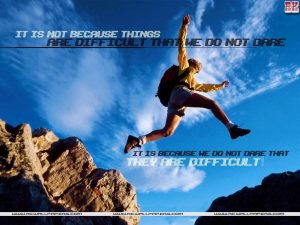 Motivational wallpaper on difficulty and dare dontgiveup! (164)