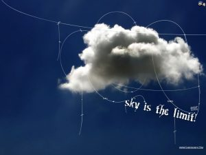 motivational wallpaper sky is the limit dontgiveup! (97)
