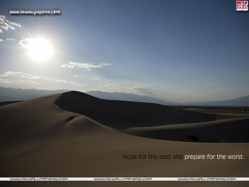 Motivational Wallpaper On Hope Hope For The Best Dont Give Up World