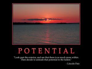 Motivational wallpaper-potential_1024x768