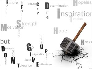 most motivational and inspiring wallpaper don't give up world hope faith courage optimism
