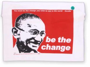 motivational wallpaper be the change you want to see in the world gandhi