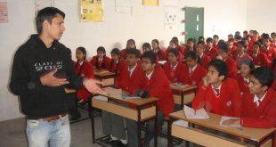 First Seminar by Arun Pandit Don't Give Up ! at La Montessori School , Kullu