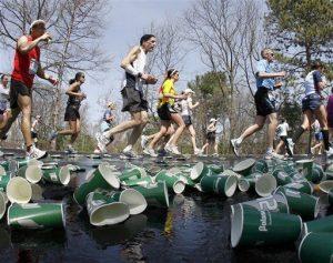 Clarence Hartley Cancer Survivor Live strong Marathon athletics boston