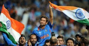 Sachin Tendulkar World Cup  Cricket 2011 Winner