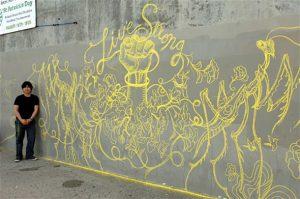 live strong graffiti