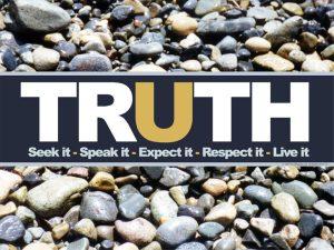 Motivational Wallpaper on Truth : Seek it, Speak it, Expect it, Respect it and live it