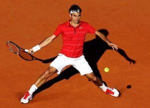 roger federer defeats Djokovic french open 2011