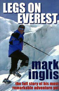 Legs On Everest - Mark Inglis On Ice Cliff At Everest
