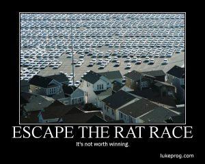 Motivational Wallpaper on Escape the Rat Race