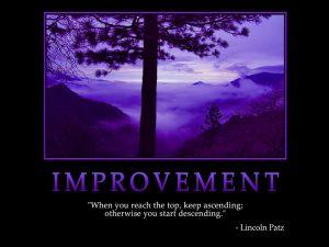 Motivational Wallpaper on improvement