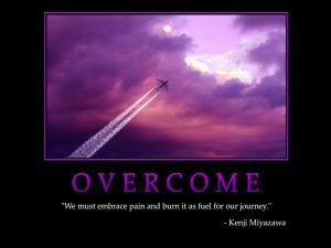 Motivational Wallpaper on overcome