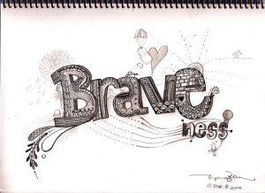 Motivational Quote on Braveness