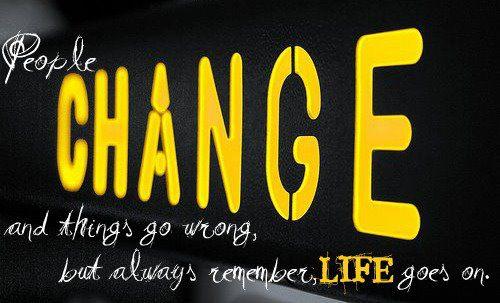 Motivational Wallpaper on Change