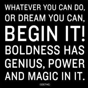 Motivational Wallpaper on Begin It