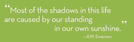 Motivational Wallpaper on Shadows