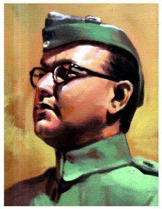 Wallpaper Netaji Subhas Chandra Bose - India's greatest freedom fighter