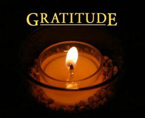 Wallpaper on gratitude