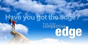 Motivational Quote on Edge