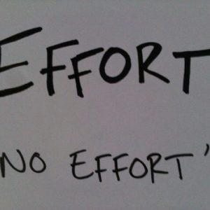 Motivational Quote on Effort