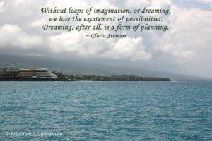 Motivational Wallpaper on Dreaming