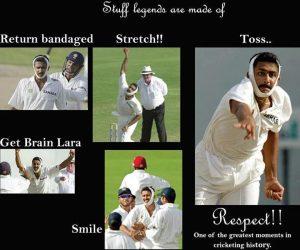 Anil Kumble Indian Cricket legend