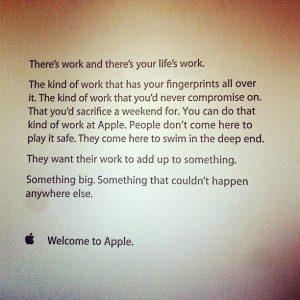 Apple  An Inspiring Orientation Letter