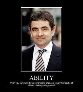 Motivational wallpaper on Ability
