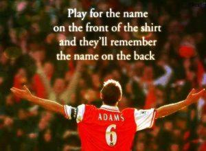 Motivational wallpaper on Club Loyalty Tony Adama Arsenal
