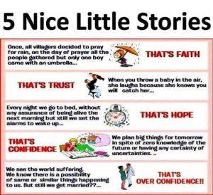 Motivational Wallpaper on 5 Nice little Stories