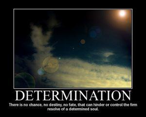 Motivational Wallpaper on Determination