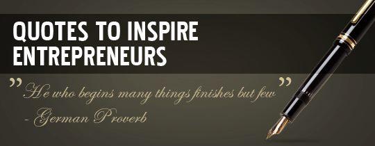 Quote for Entrepreneurs