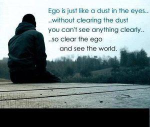 Quote on ego