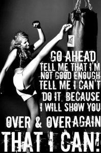 Go Ahead Say I Can