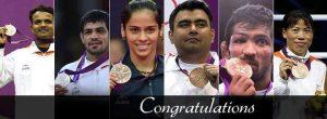 Motivational Wallpaper on Six champions who brought glory