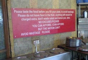 Motivational Wallpaper on Appeal Dont waste food