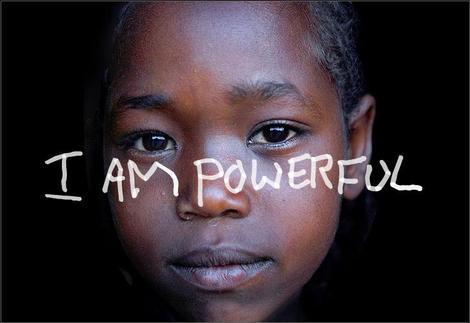 Motivational Wallpaper on I am powerful