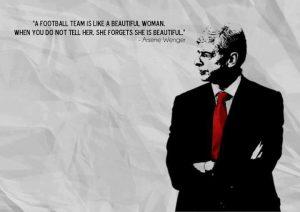 Motivational Wallpapers on Football team by Arsene Wenger