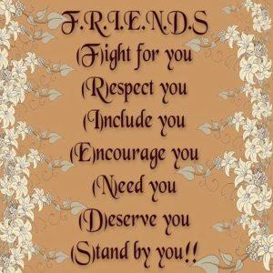 Defination of a friend
